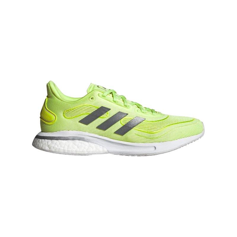 adidas Supernova Running Damen Gelb - gelb