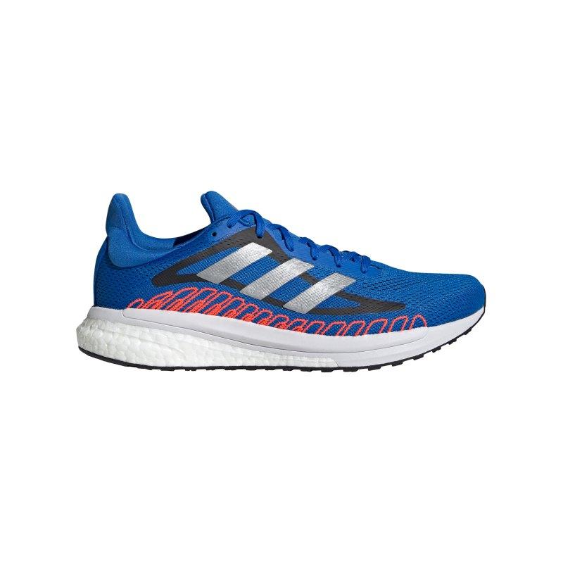 adidas Solar Glide ST 3 Running Blau Rot - weiss