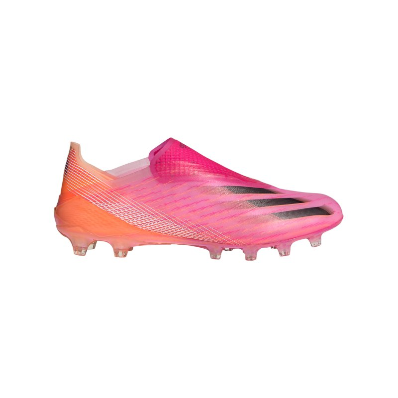 adidas X GHOSTED+ AG Superspectral Pink Schwarz Orange - pink