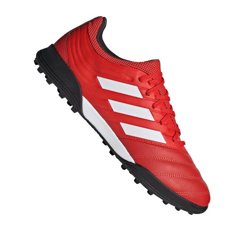 adidas COPA 20.3 TF Rot Schwarz - rot