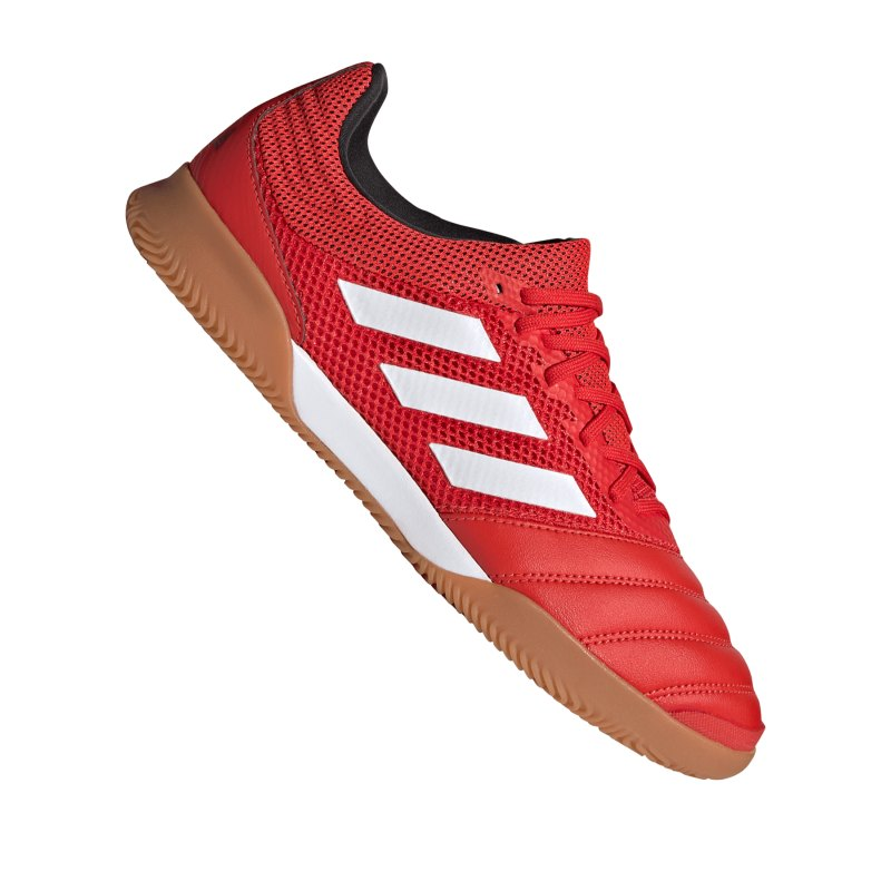 adidas COPA 20.3 IN Sala Halle Rot Schwarz - rot