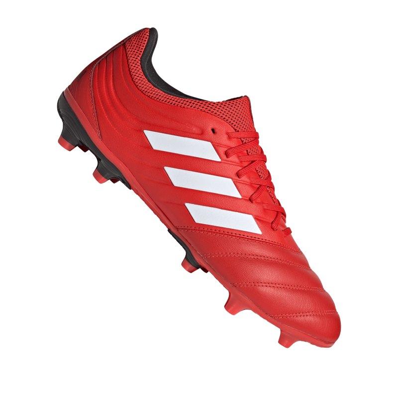 adidas COPA 20.3 FG Rot Schwarz - rot