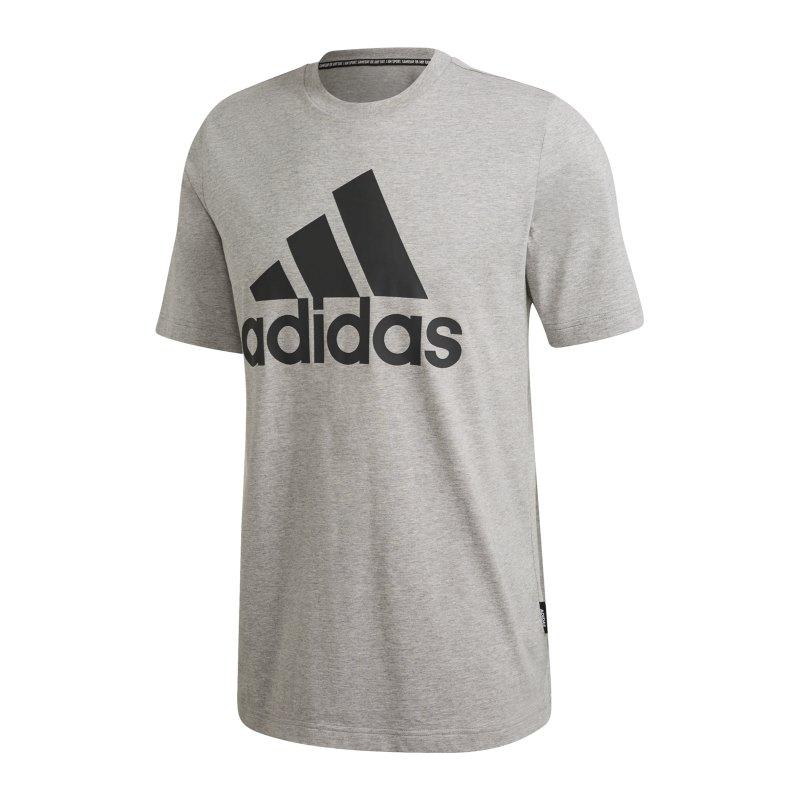 adidas Must Haves Badge of Sport T-Shirt Grau - grau
