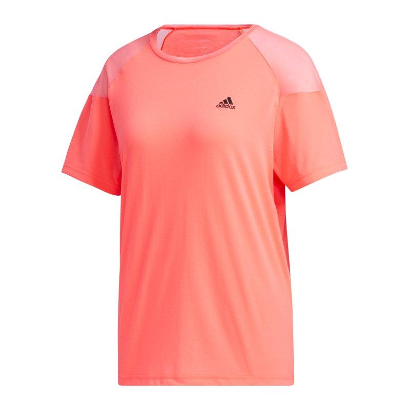adidas Unleash Confidence T-Shirt Damen Orange - orange