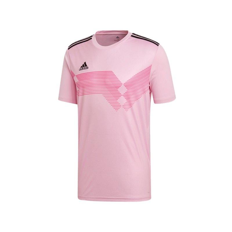 adidas Campeon 19 Trikot Kids Pink Schwarz