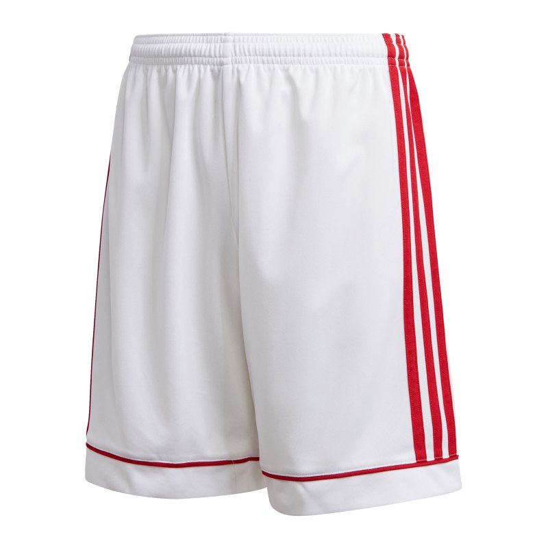 adidas Squad 17 Short Kids Weiss Rot - weiss