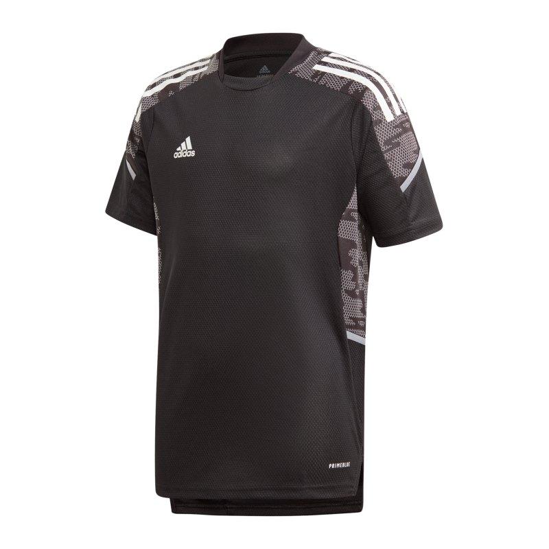 adidas Condivo 21 Trainingsshirt Kids Schwarz - schwarz