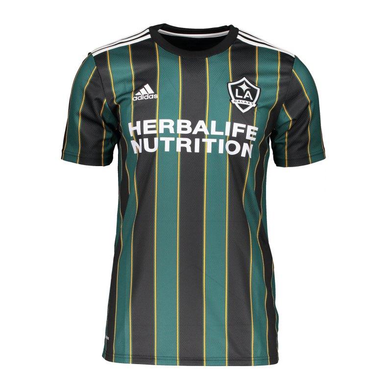 adidas LA Galaxy Trikot Away 2021/2022 Schwarz - schwarz