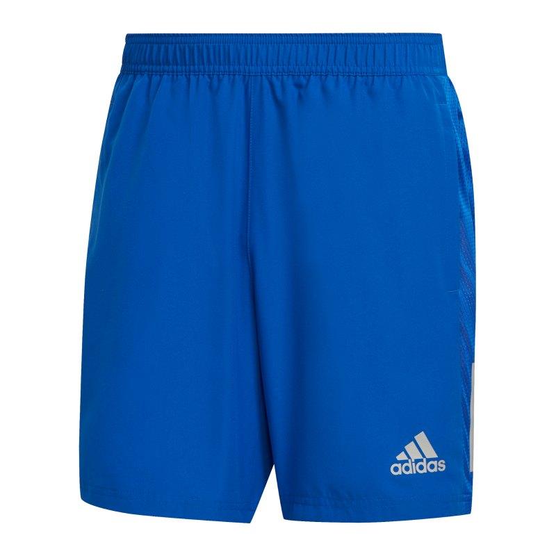 adidas Own The Run Shorts Running Blau - blau