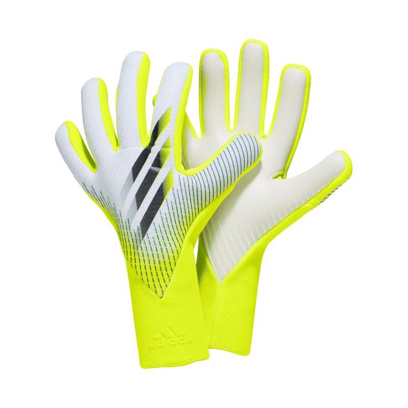 adidas X Pro Superlativ Torwarthandschuh Gelb Schwarz - gelb