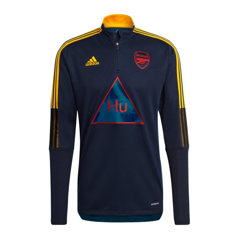 adidas FC Arsenal London Human Race Trainingstop Blau - blau
