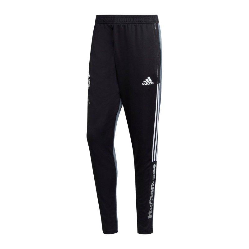 adidas Real Madrid Human Race Trainingshose Schwarz - schwarz