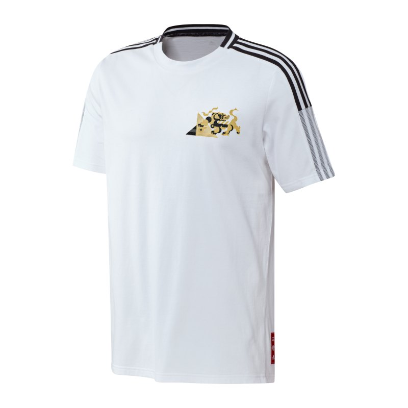 adidas Juventus Turin CNY T-Shirt Weiss - weiss