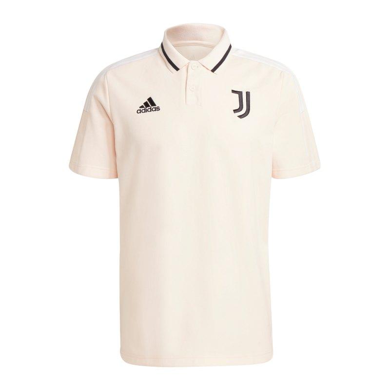 adidas Juventus Turin Poloshirt Rosa - rosa