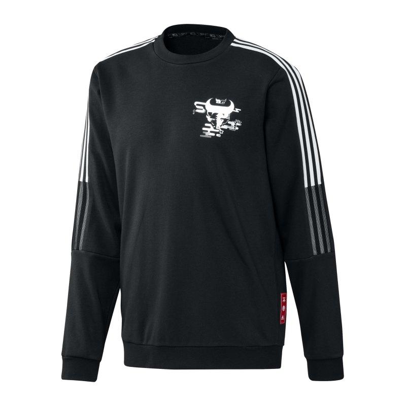adidas Real Madrid CNY Sweatshirt Schwarz - schwarz