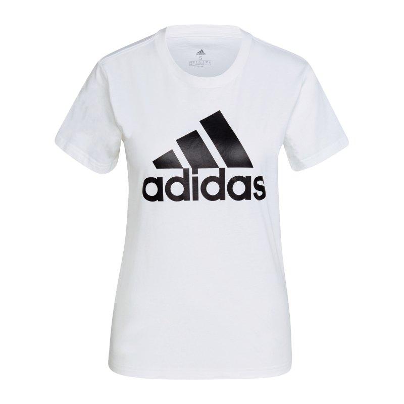 adidas Essentials Regular T-Shirt Damen Weiss - weiss