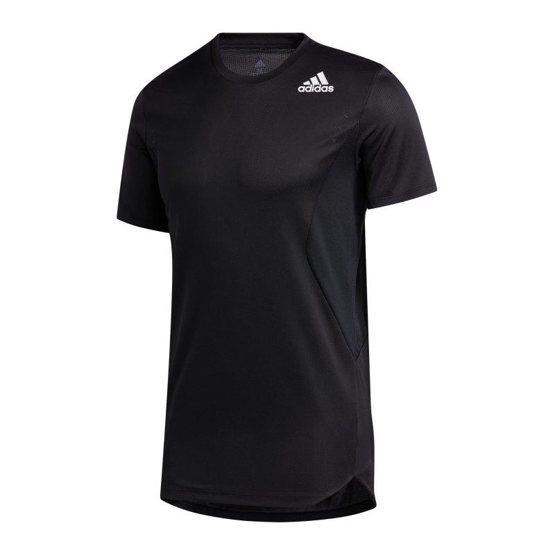 adidas HEAT.RDY T-Shirt Schwarz - schwarz