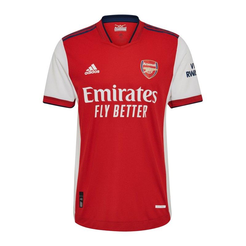 adidas FC Arsenal London Auth. Trikot Home 2021/2022 Weiss - weiss