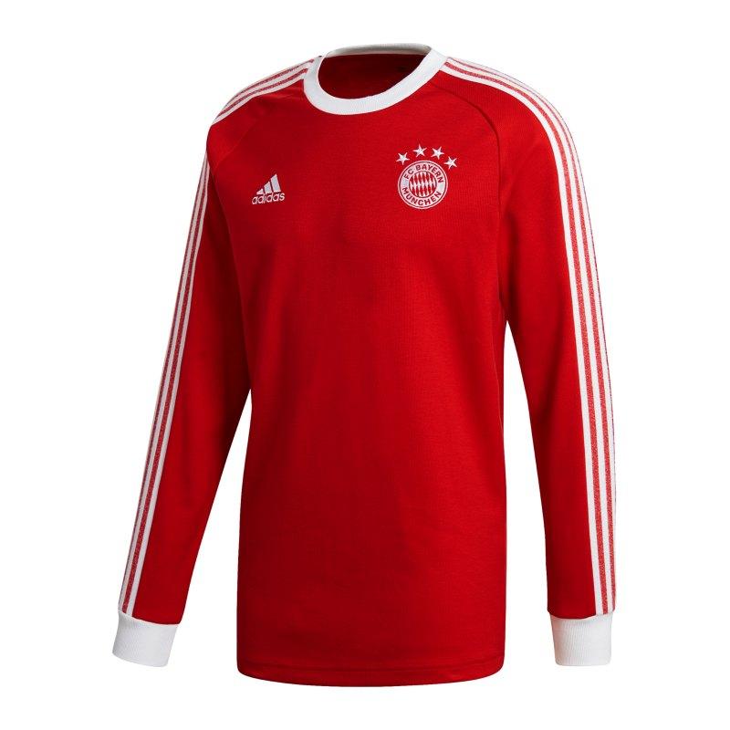 adidas FC Bayern Licensed Icons Sweatshirt Rot - rot