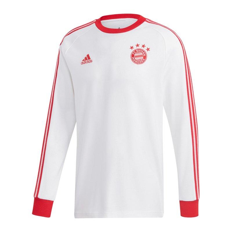 adidas FC Bayern Gerd Müller Licensed Icons Sweatshirt Weiss - weiss