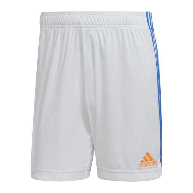 adidas Real Madrid Short Home 2021/2022 Weiss - weiss