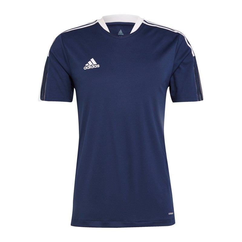 adidas Tiro 21 Trainingsshirt Dunkelblau - blau