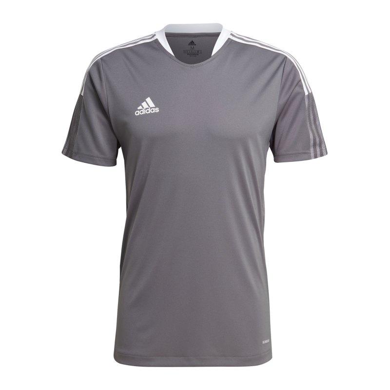 adidas Tiro 21 Trainingsshirt Grau - grau