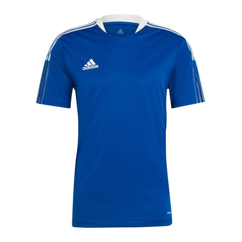 adidas Tiro 21 Trainingsshirt Blau - blau