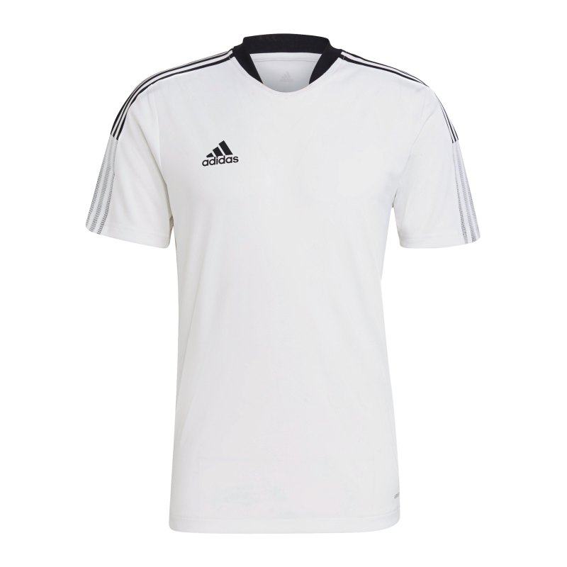 adidas Tiro 21 Trainingsshirt Weiss - weiss