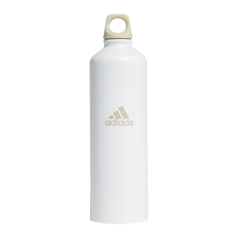 adidas ST Trinkflasche 750ml Weiss - weiss