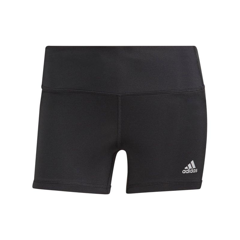 adidas Own The Run Short Running Damen Schwarz - schwarz