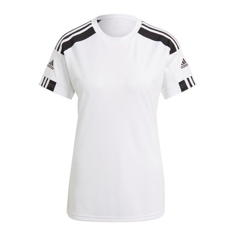 adidas Squadra 21 Trikot Damen Weiss Schwarz - weiss