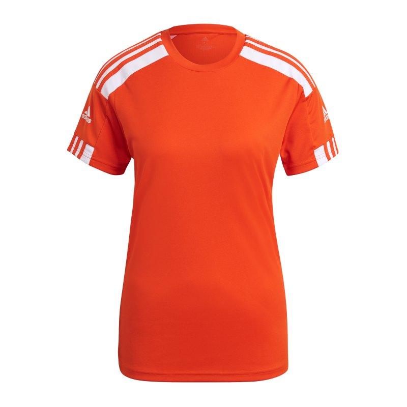 adidas Squadra 21 Trikot Damen Orange Weiss - orange