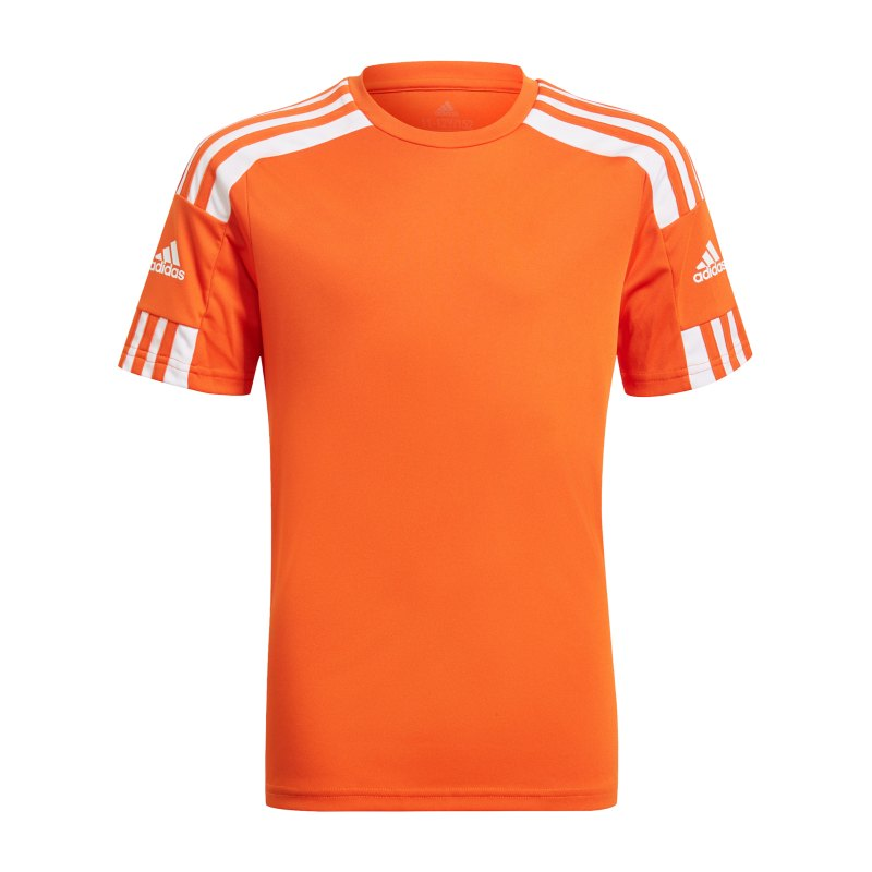 adidas Squadra 21 Trikot Kids Orange Weiss - orange