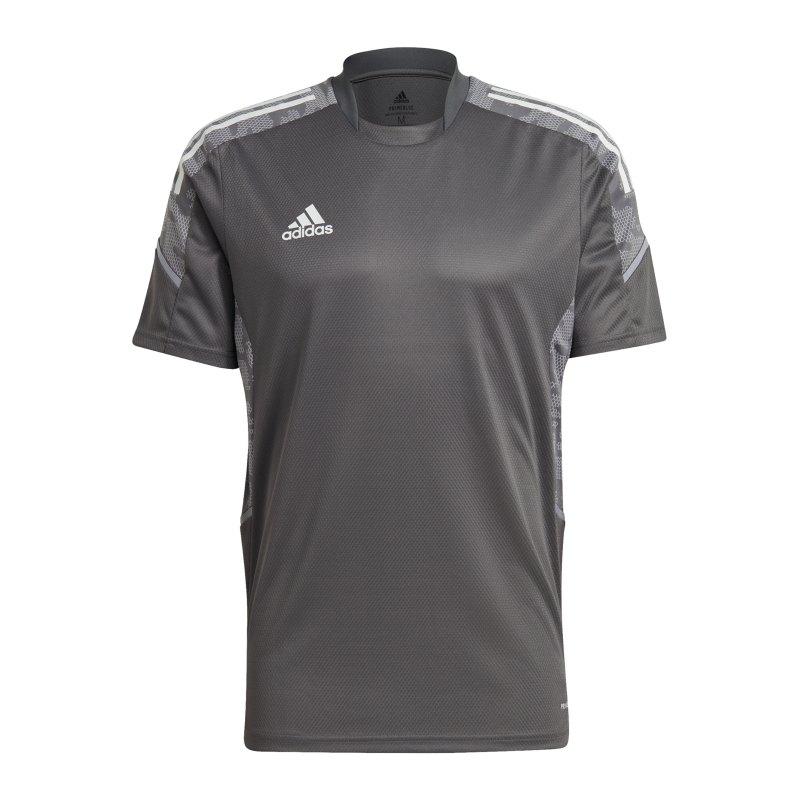 adidas Condivo 21 Trainingsshirt Grau - grau