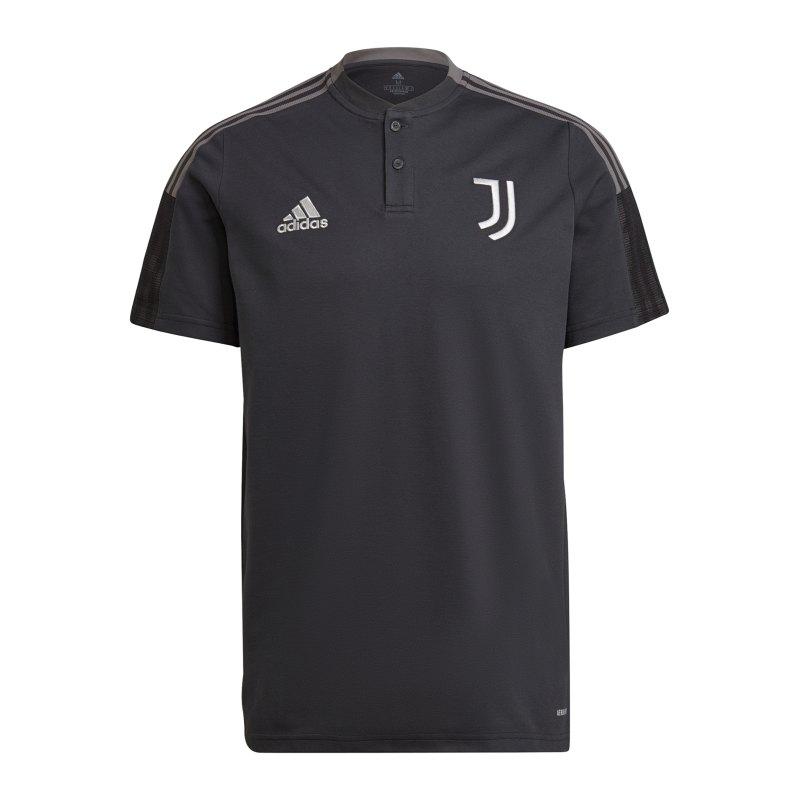 adidas Juventus Turin Polo Grau - grau