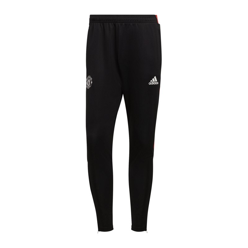 adidas Manchester United Trainingshose Schwarz - schwarz