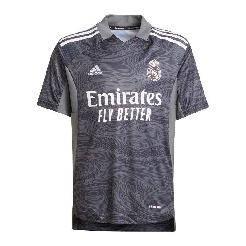 adidas Real Madrid TW-Kit Home 2021/2022 Kids Schwarz - schwarz
