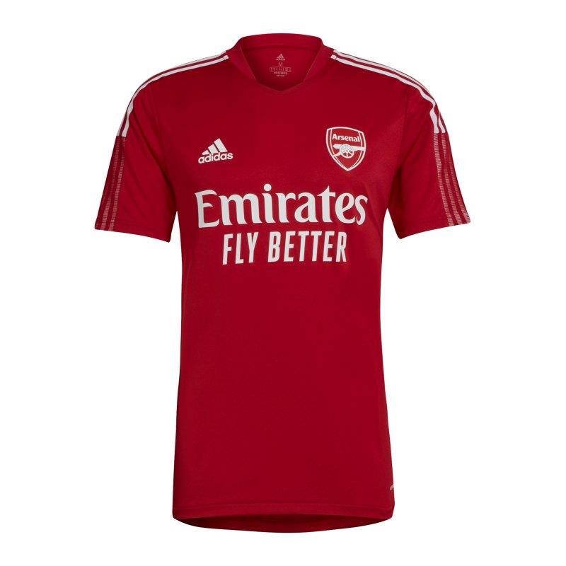 adidas FC Arsenal London Trainingsshirt Rot - rot