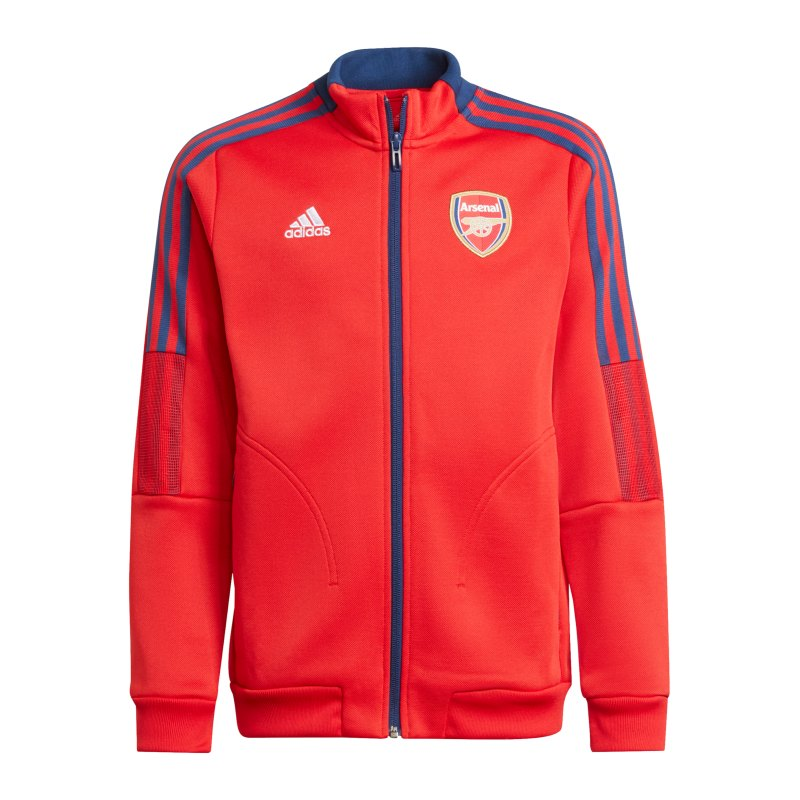 adidas FC Arsenal London Anthem Jacke Kids Rot - rot