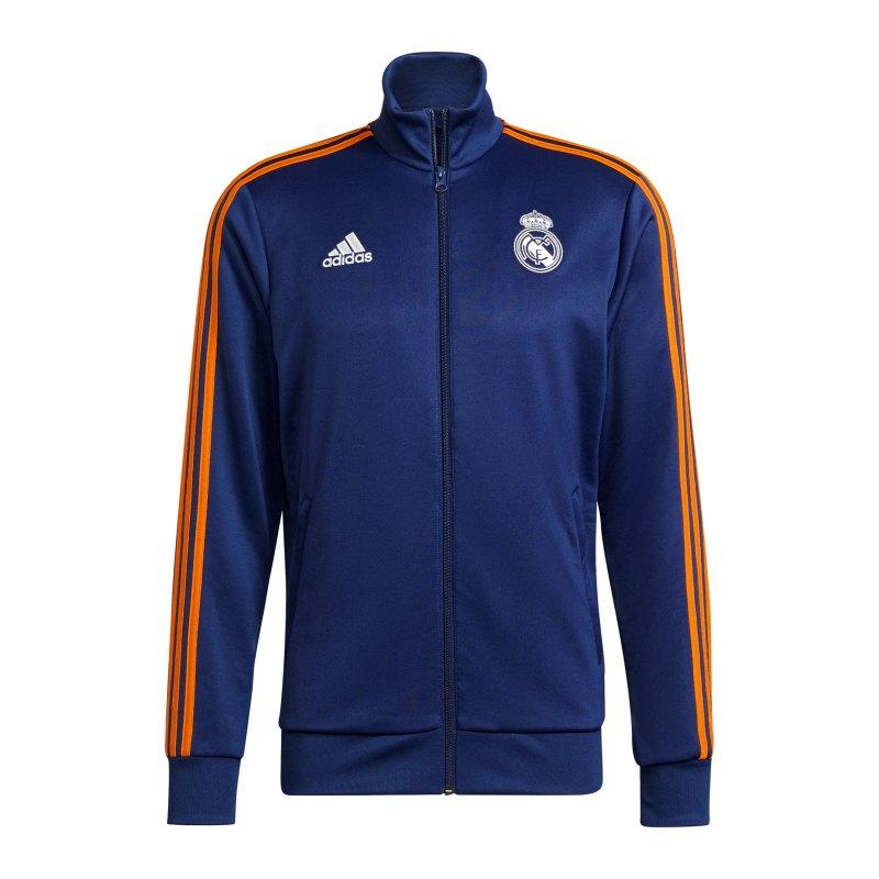 adidas Real Madrid 3S Tracktop Blau - blau