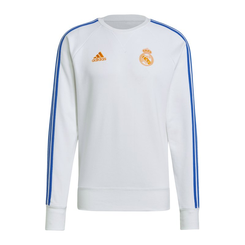 adidas Real Madrid Sweatshirt Weiss - weiss
