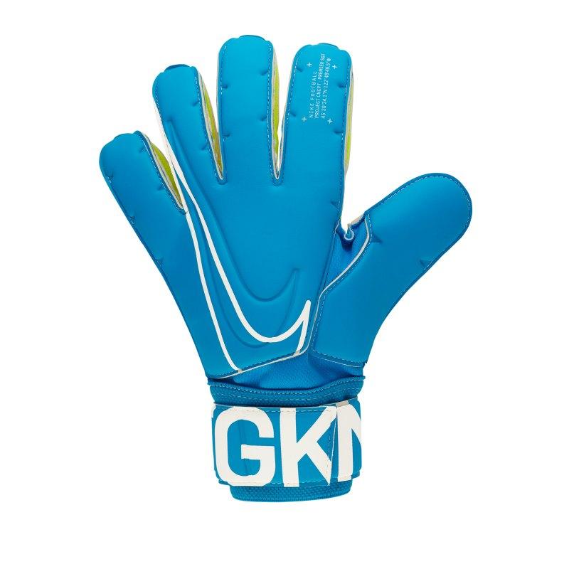 Nike SGT Premier Torwarthandschuh Blau F430 - blau