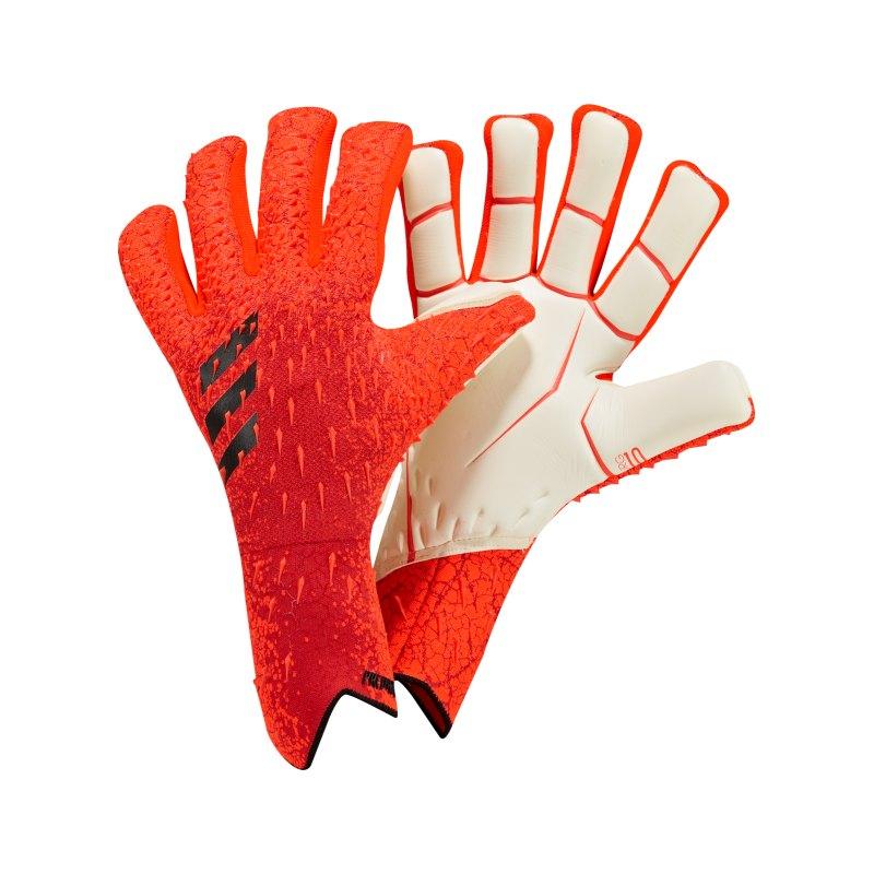 adidas Predator Pro FSP Meteorite Torwarthandschuh Rot - rot