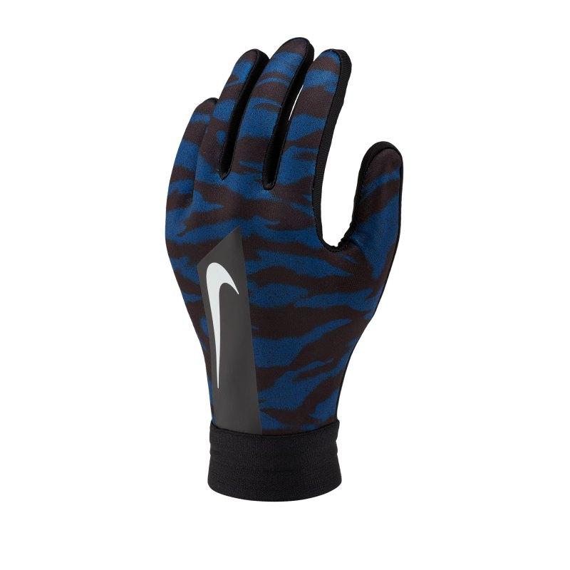 Nike Academy Hyperwarm Handschuh Kids Schwarz F011 - blau