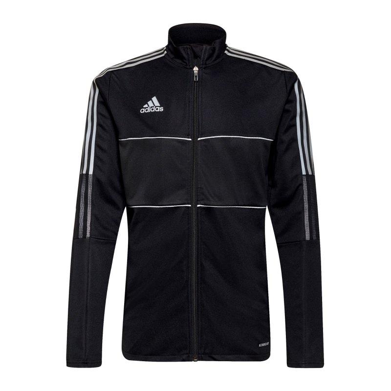 adidas Tiro Reflective Trainingsjacke Schwarz - schwarz