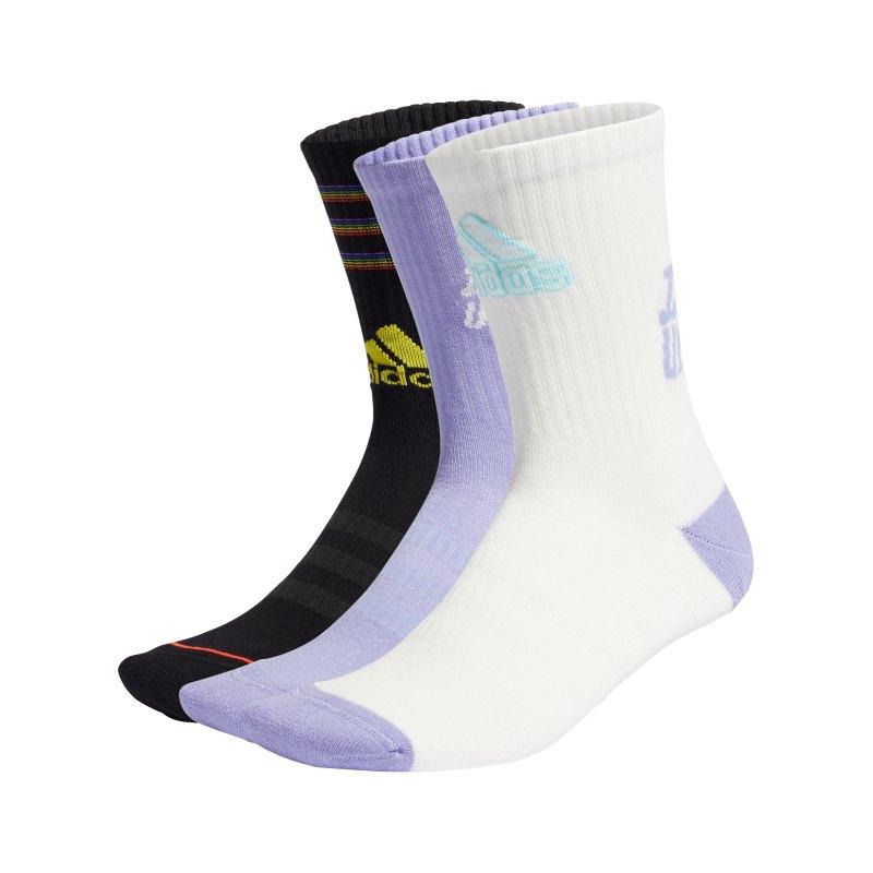 adidas Tiro Love Unites Socken 3er Pack Schwarz - weiss