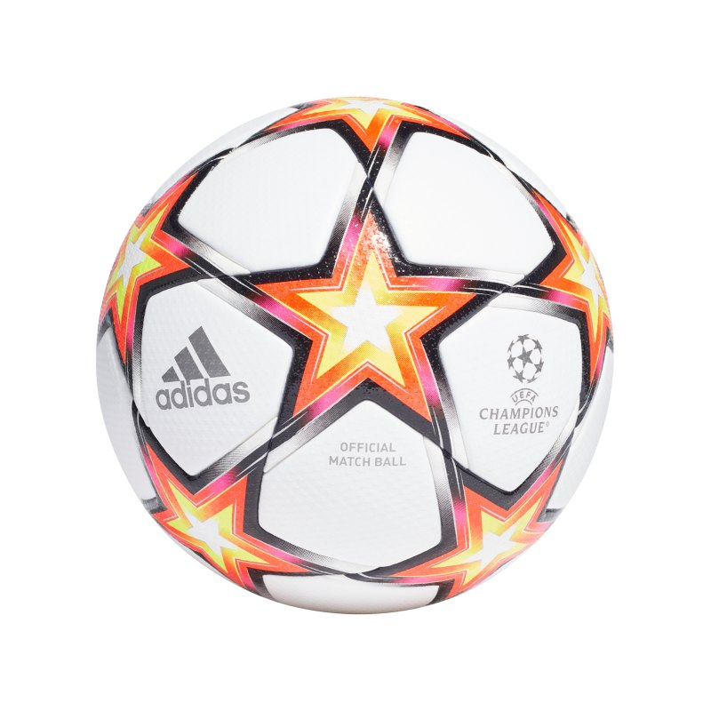 adidas UCL Pro Spielball Weiss Rot - rot