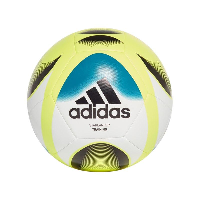 adidas Starlancer TRN Trainingsball Weiss - weiss