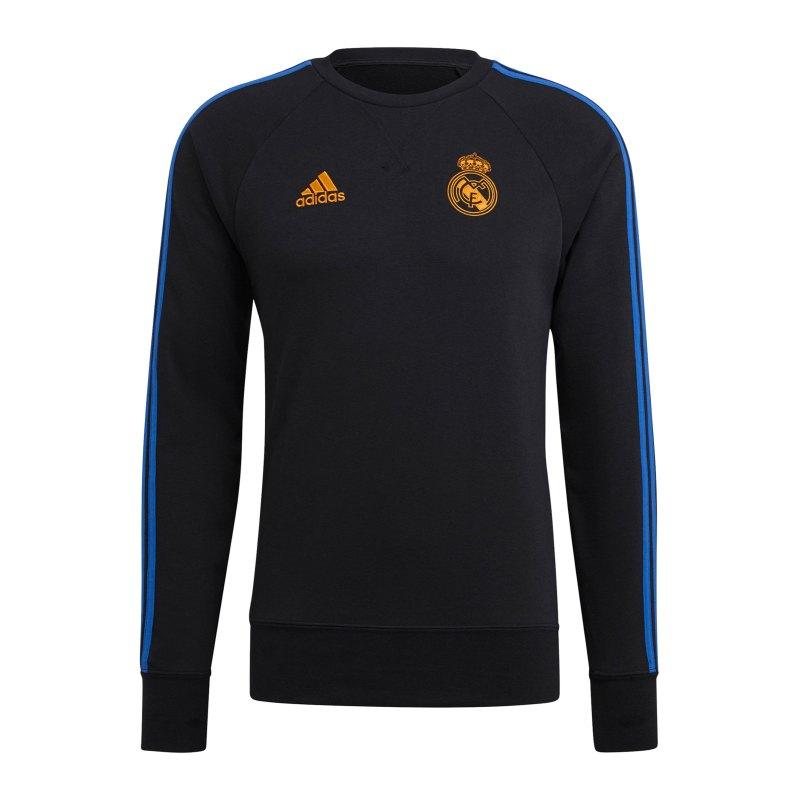 adidas Real Madrid Sweatshirt Schwarz - schwarz